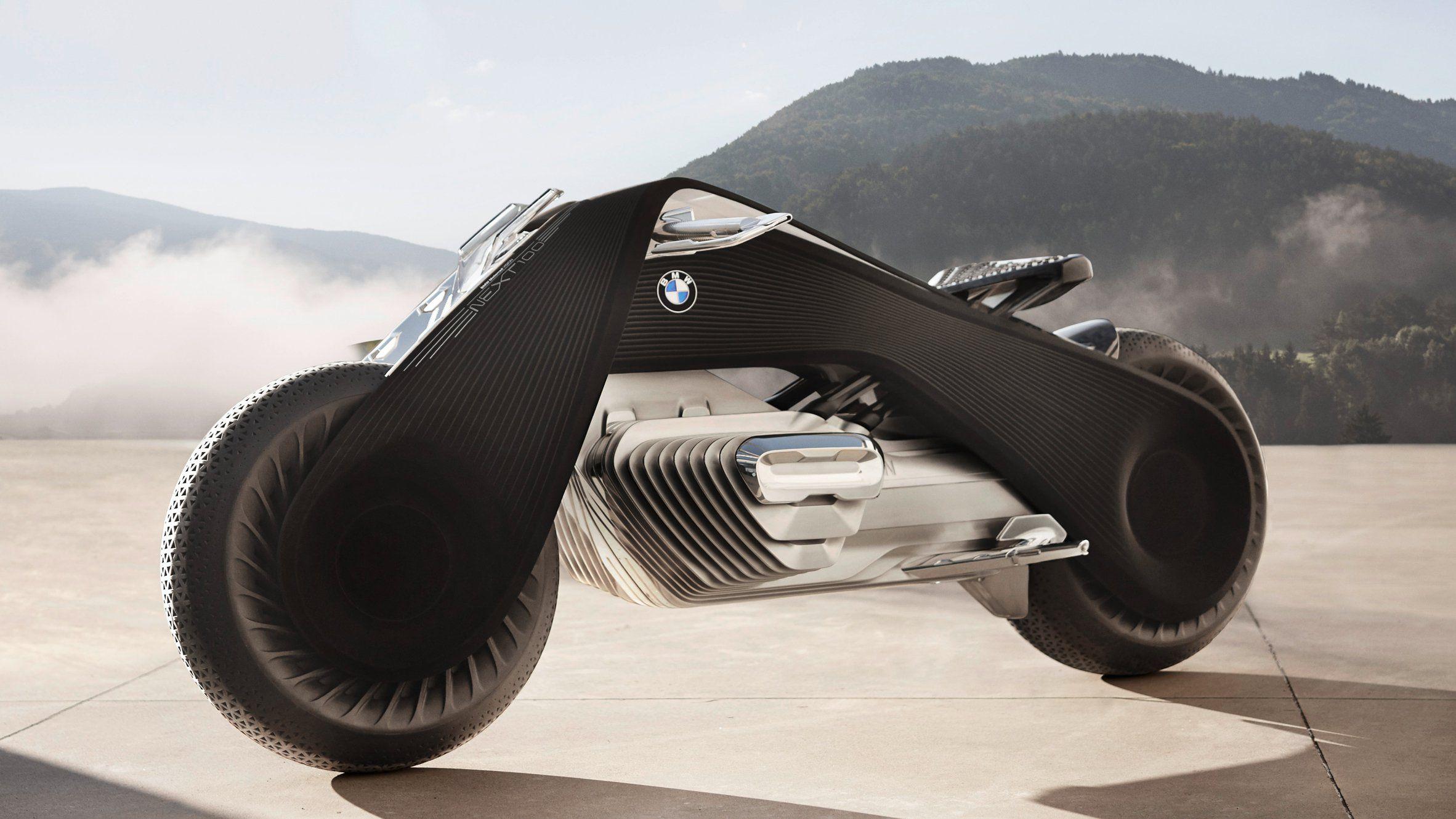 bmw's latest concept vehicle, the zero-emissions bmw motorrad