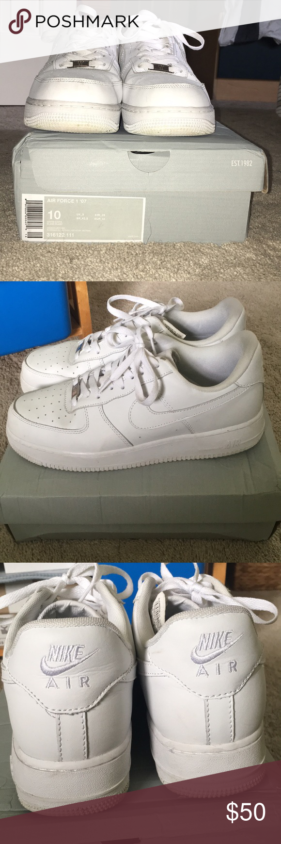 Nike Air Force 1 Low Pure White Nike air force, Nike air