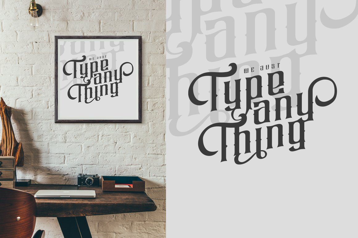 Ndogk Lettering, Hipster fonts, Lowercase a