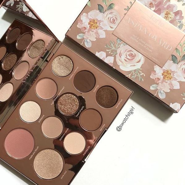 Tarte X Aspyn Eye & Cheek Palette