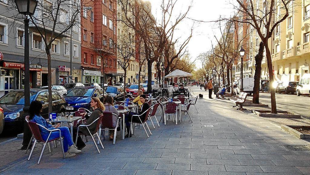 Las Terrazas Madrid Ibiza Retiro Cerca Con Google Street