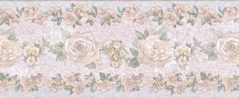 Vintage Pastel Pink Blue Green Floral Uk Wallpaper Border Fine Decor 3456 B Finedecor Englishcott Floral Wallpaper Border Vintage Floral Wallpapers Wallpaper