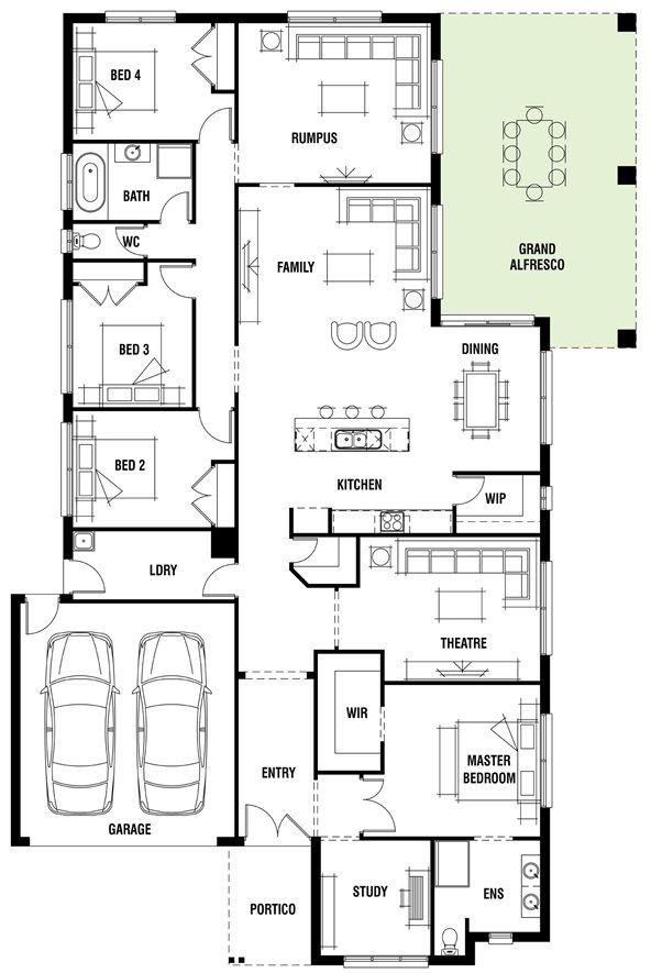 house design canterbury porter davis homes decor
