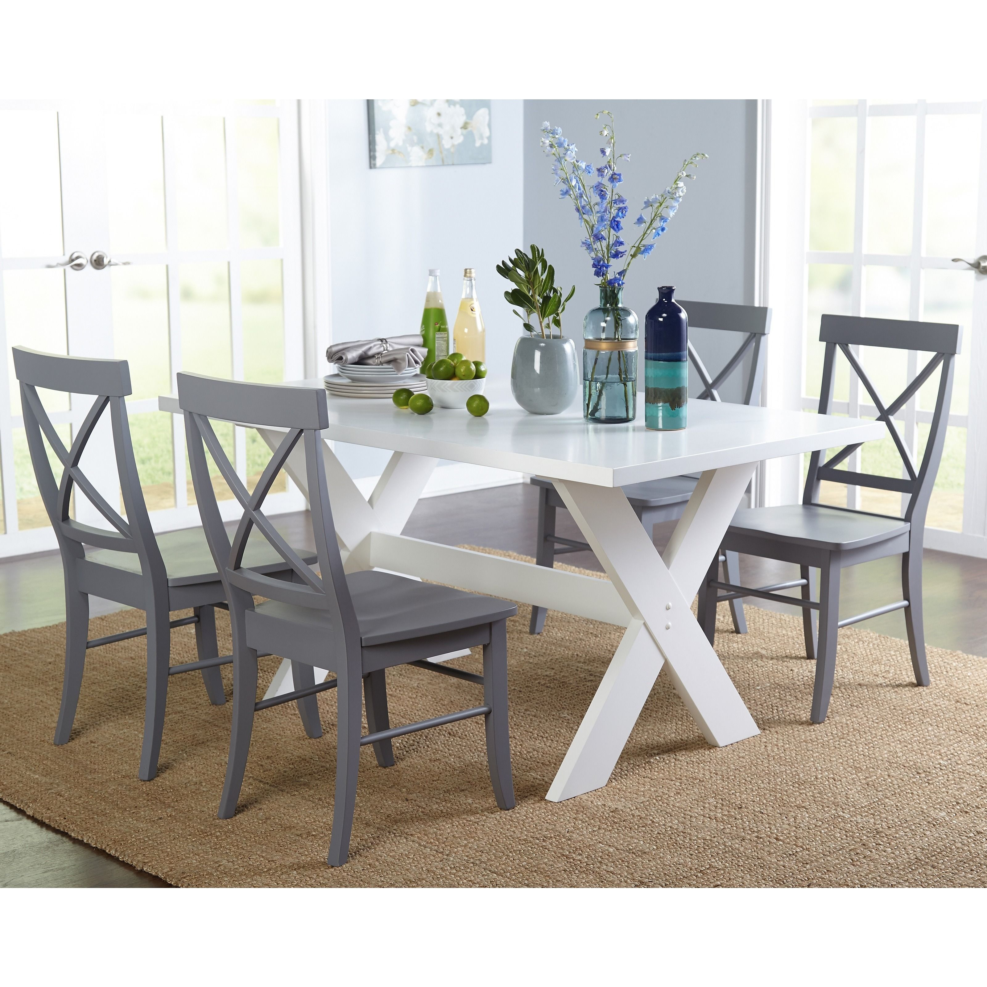 Simple Living 5 Piece Sumner Dining Set In 2019 Home Dining