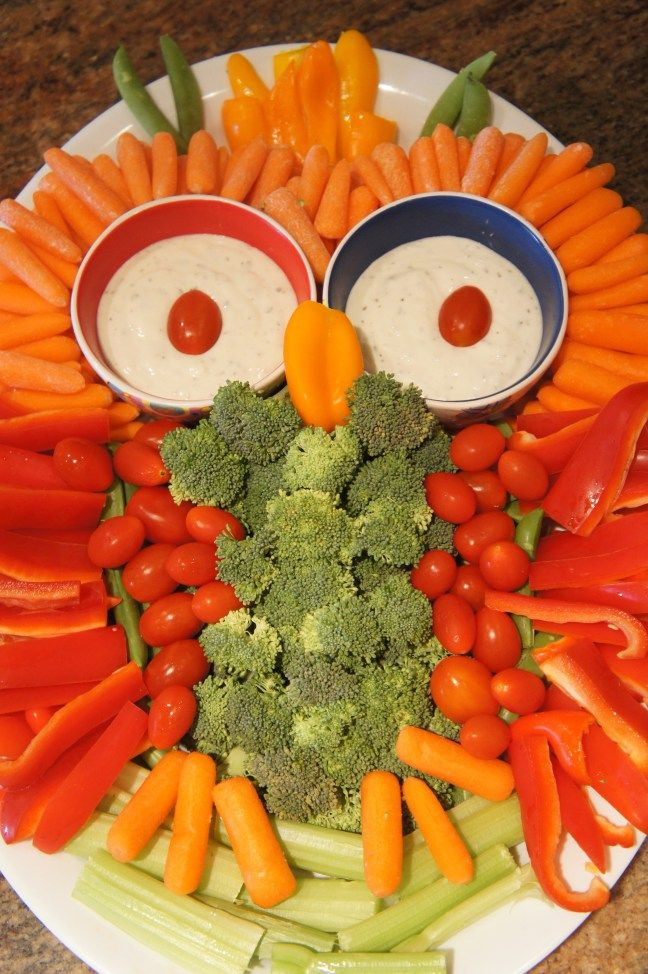 Owl Veggie Tray For Woodland Creatures Baby Shower