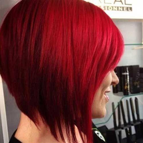20 Red Bobs Hairstyles Bob Haircut And Hairstyle Ideas Bob Frisur Roter Bob Haarschnitt