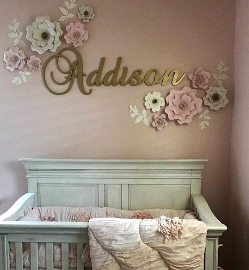43+ Baby room wall decor letters ideas