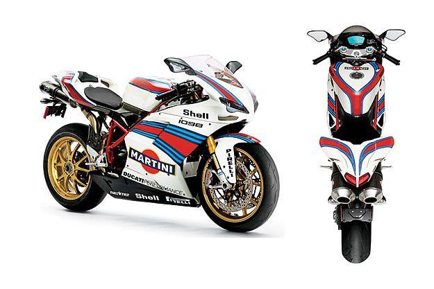 Martini Racing Ducati 1098 Motocicletas Coches Deportivos