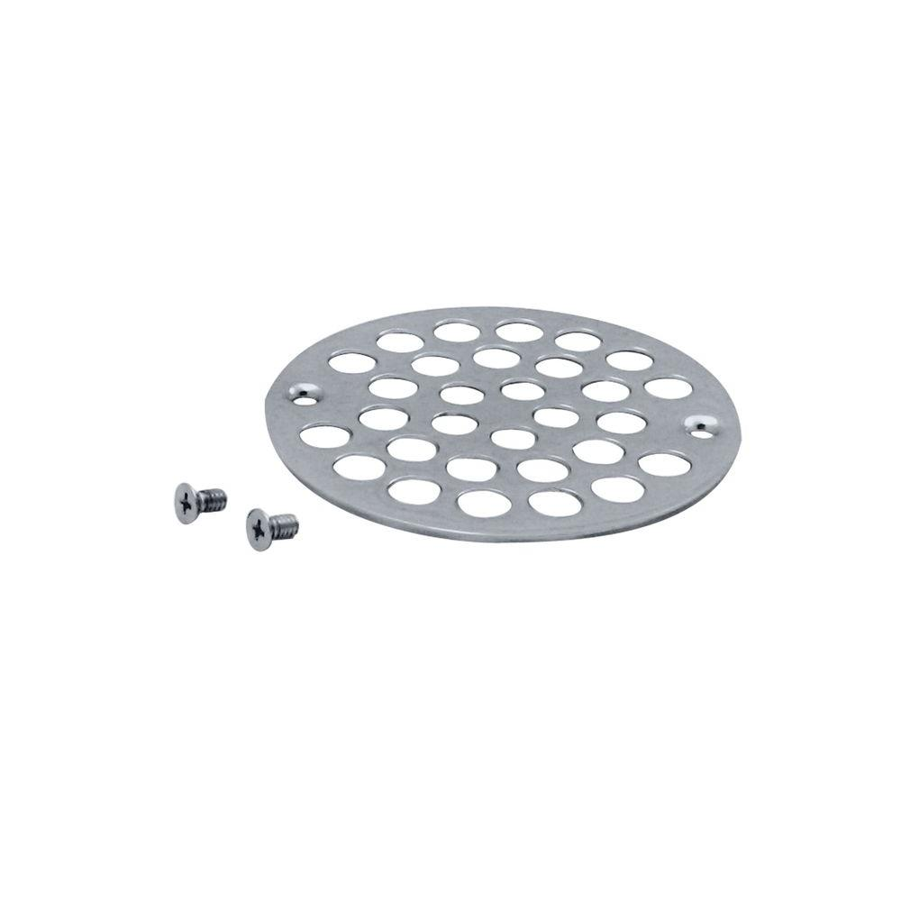 Westbrass 4 In O D Shower Strainer Cover Plastic Oddities Style