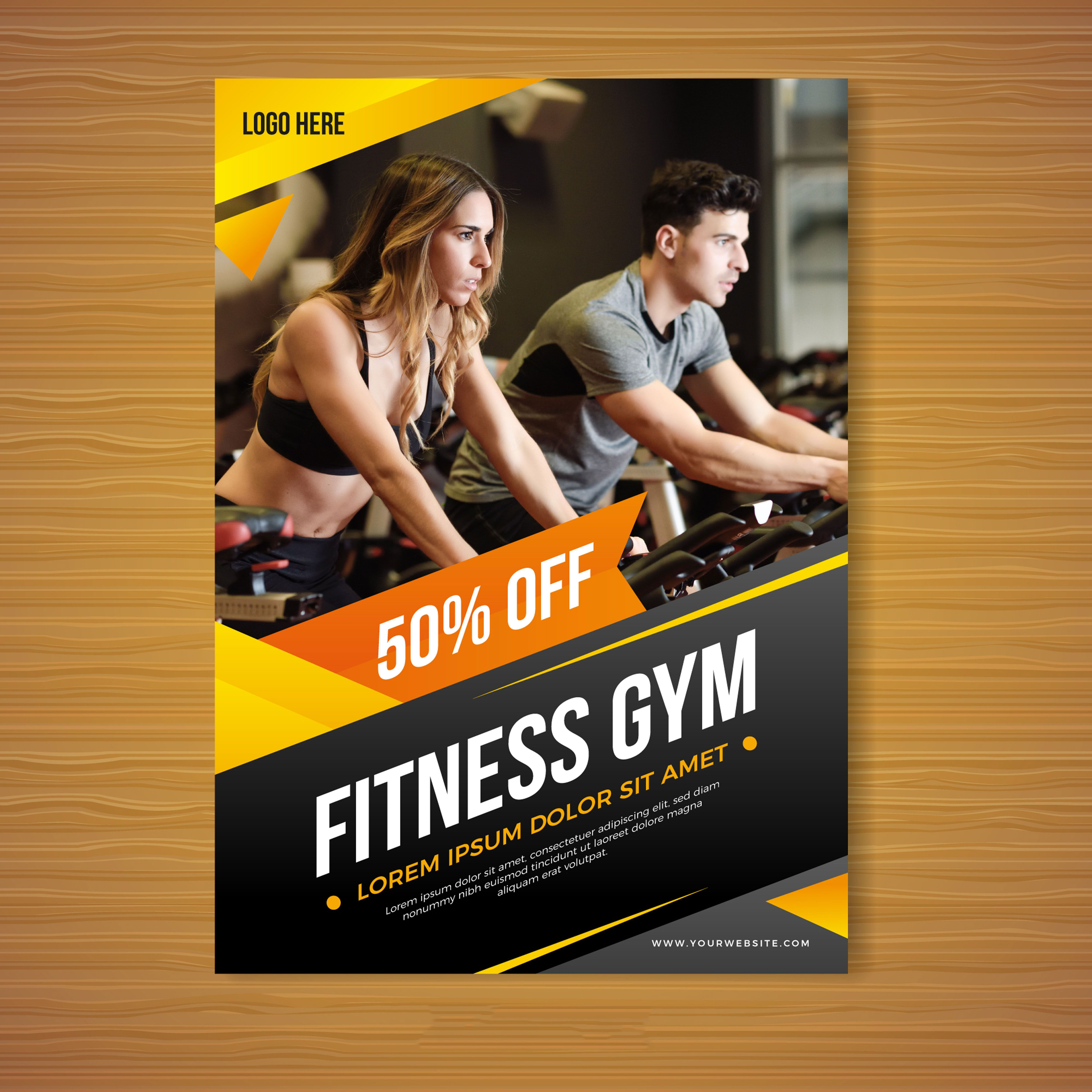 Pin By Rosli On Brochure Flyers Fitness Flyer Gym Poster
