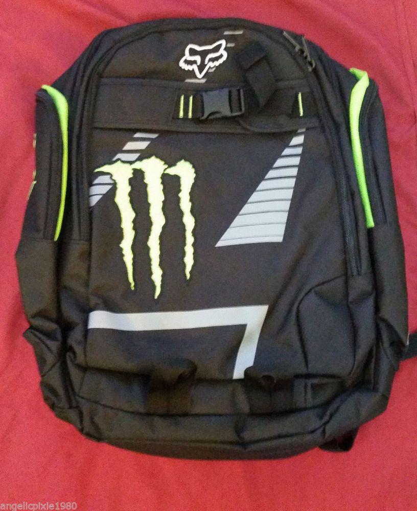 New monster energy fox racing backpack  4  FoxRacing  Backpack ... 1aad6e88b2