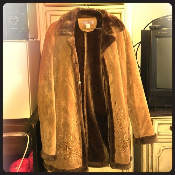 Winter coat Brown and it really give you comfort in cold weather and its stylish Jackets & Coats Trench Coats