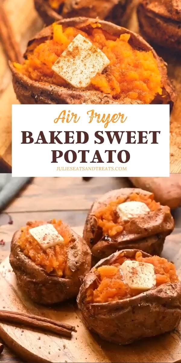 AIR FRYER BAKED SWEET POTATO