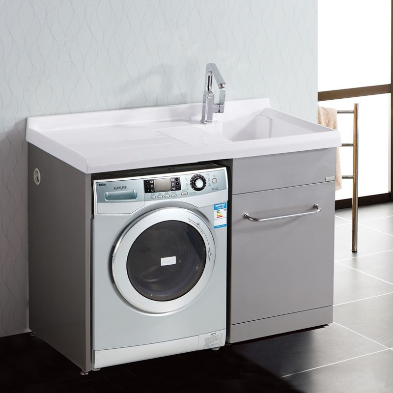 Washing machine in the bathroom google search bathroom for Small bathroom designs with washing machine