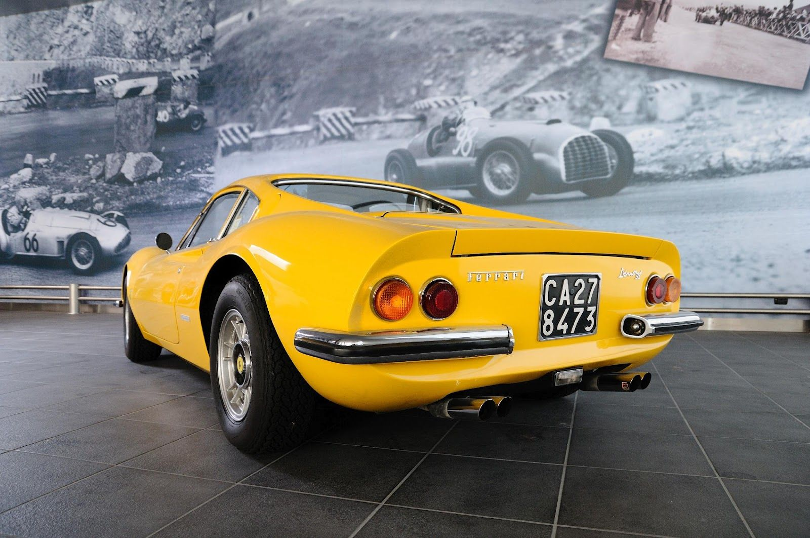 Ferrari Dino 246GT Berlinetta from 1972