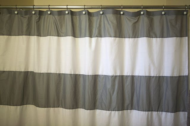cola cola: west elm inspired shower curtain
