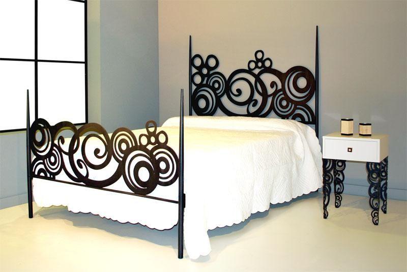 Cama 160 Deco - Dormitorios de Forja Chasol - Camas - | Metal ...