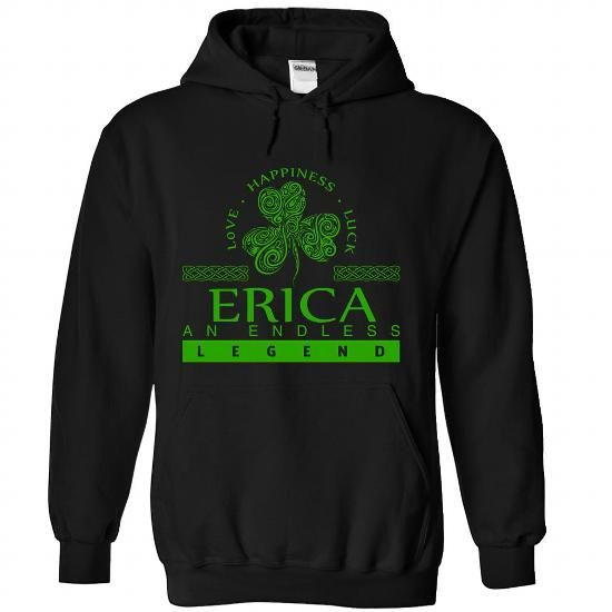 ERICA-the-awesome - #zip up hoodie #make your own t shirts. CHECK PRICE => https://www.sunfrog.com/LifeStyle/ERICA-the-awesome-Black-81862991-Hoodie.html?id=60505