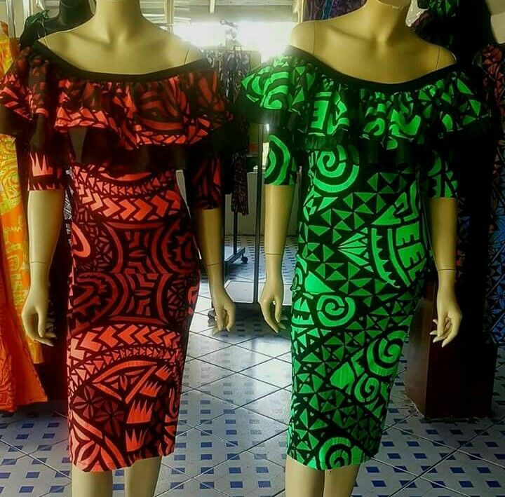 Samoan Party Dresses