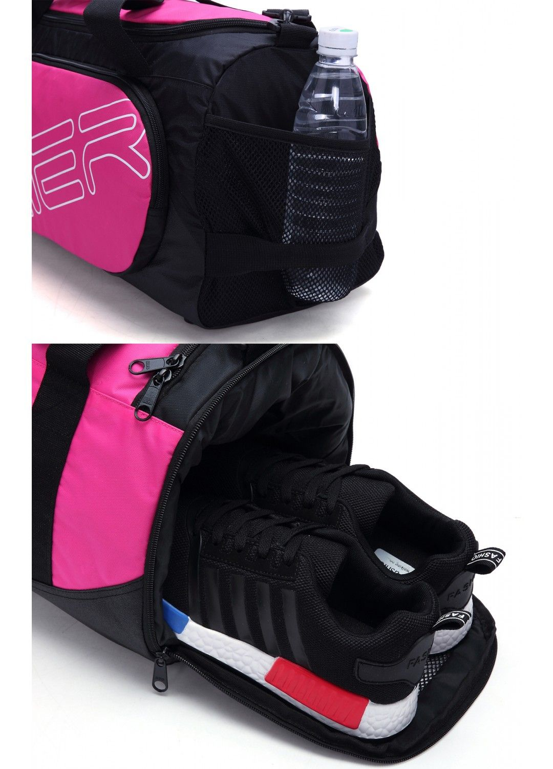 a6fbd4e4850d MIER Small Gym Sports Bag with Shoes Compartment for Men and Women ...