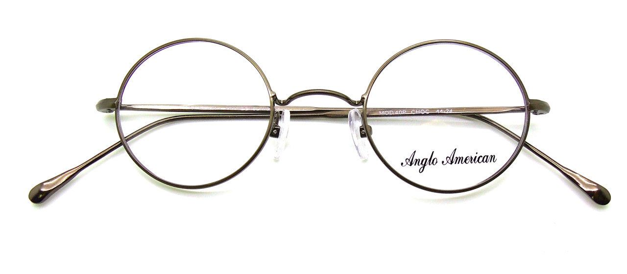 The Old Glasses Shop - Anglo American 40P Round Metal Frames Colour ...
