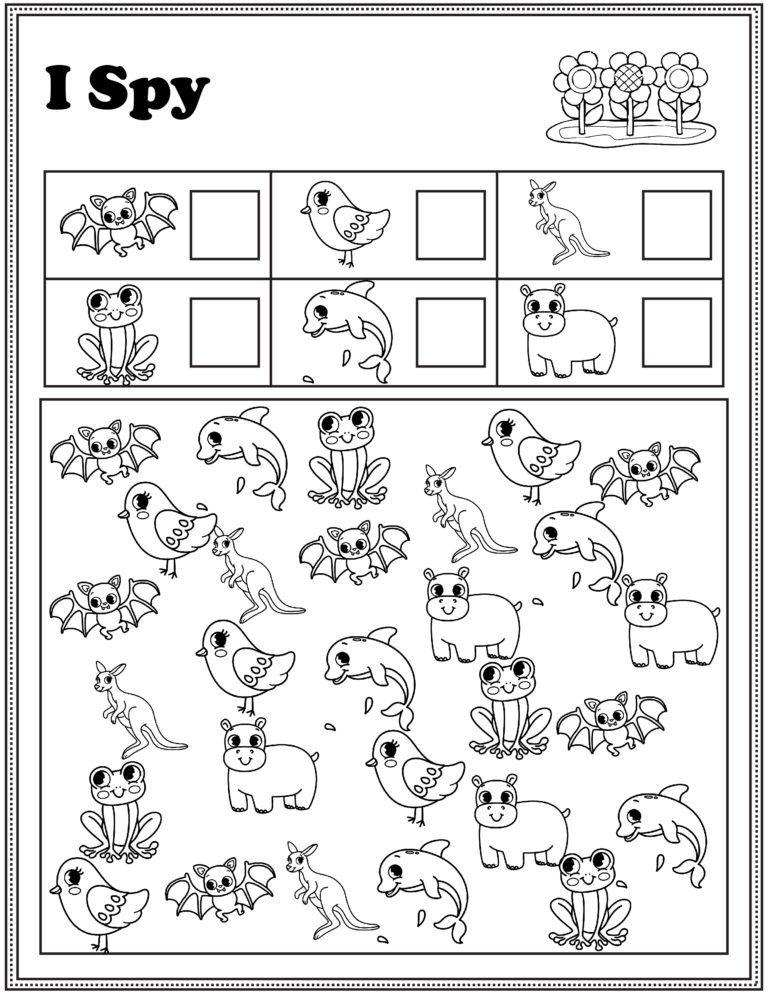 Preschool Math And Literacy Worksheets Free Printables Free