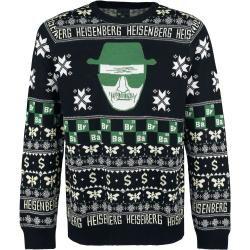 Breaking Bad Heisenberg WeihnachtspulloverEmp.de