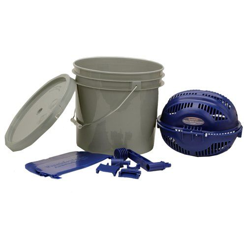 Frankford Arsenal Quick N Ez Rotary Sifter Kit With Media Separator Bucket Adapter And 3 1 2 Gallon Bucket For Reloading Arsenal Reloading Equipment Reloading