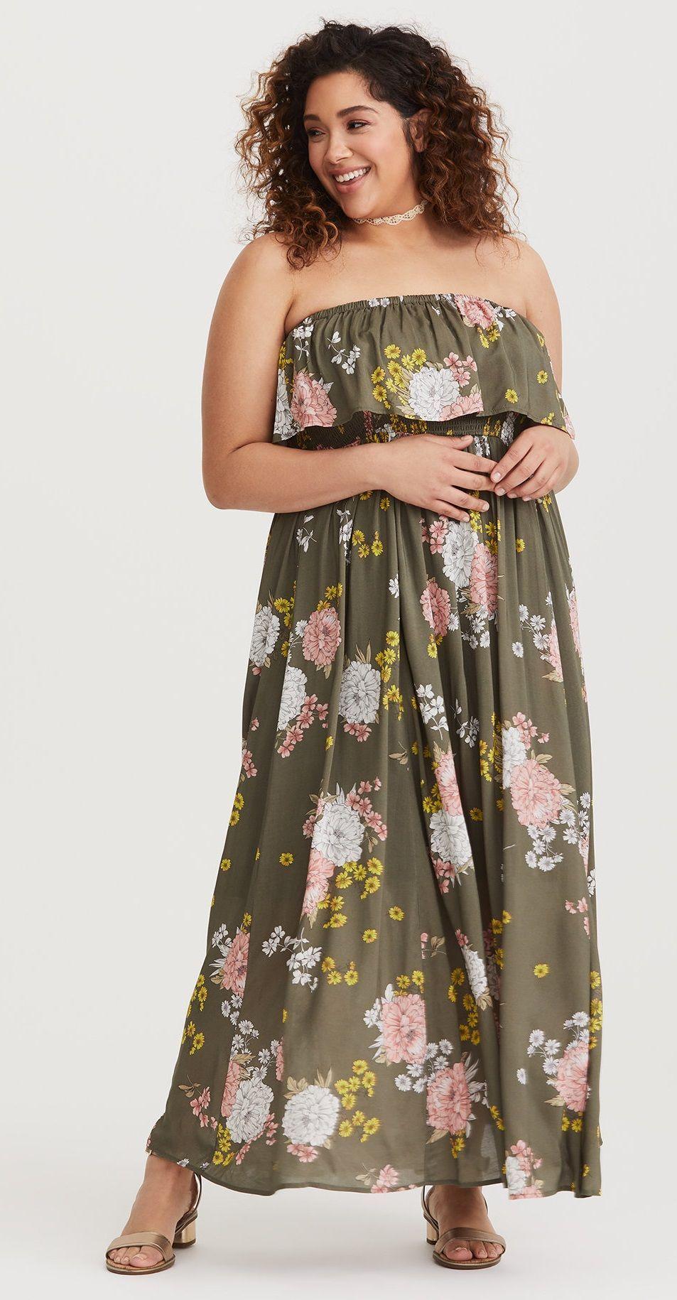 Plus size maxi dress plus size fashion for women plussize