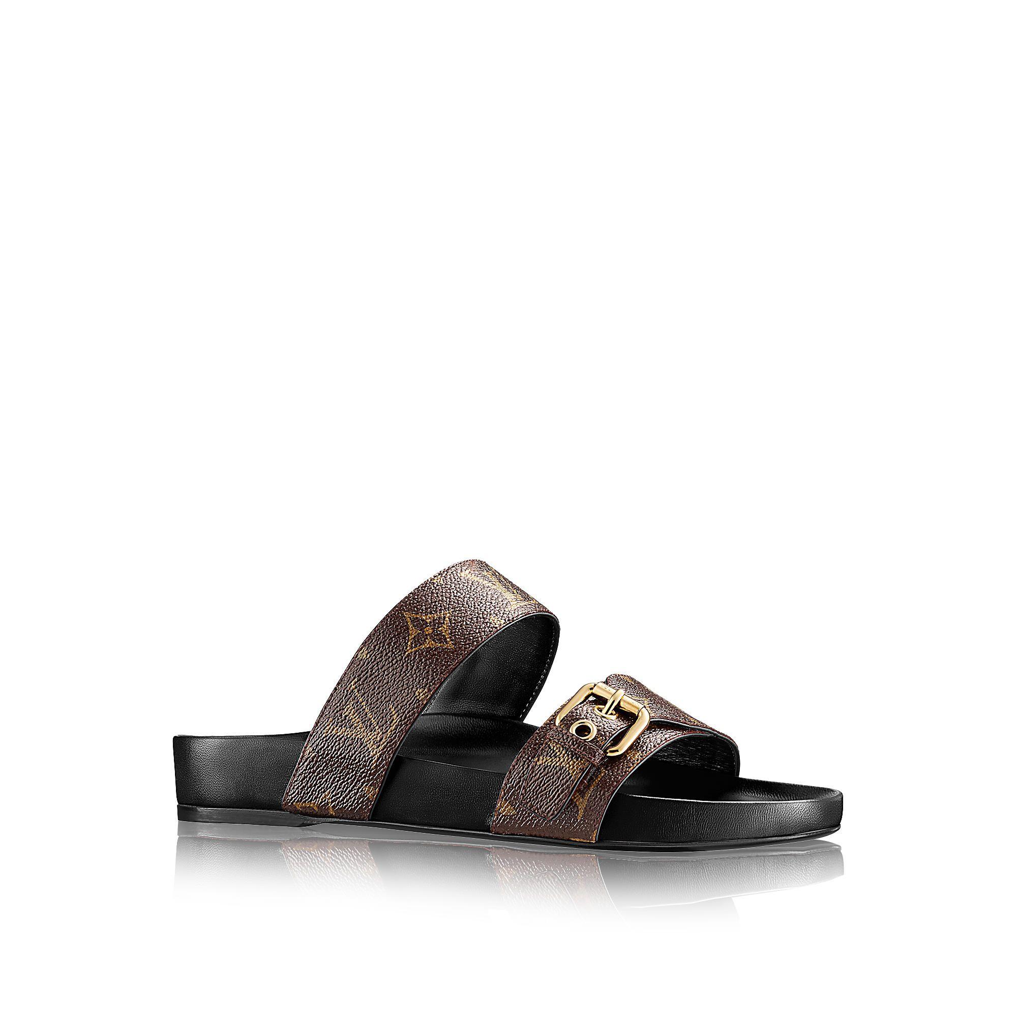 Discover Louis Vuitton Bom Dia Mule via Louis Vuitton · Mules ShoesWomen's  ...