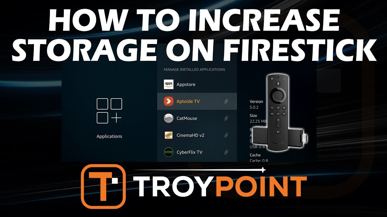 How to Increase Storage on Firestick 4K with USB Flash