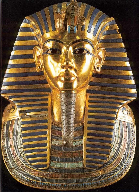 mascara de Tutankamon - Arte egipcio