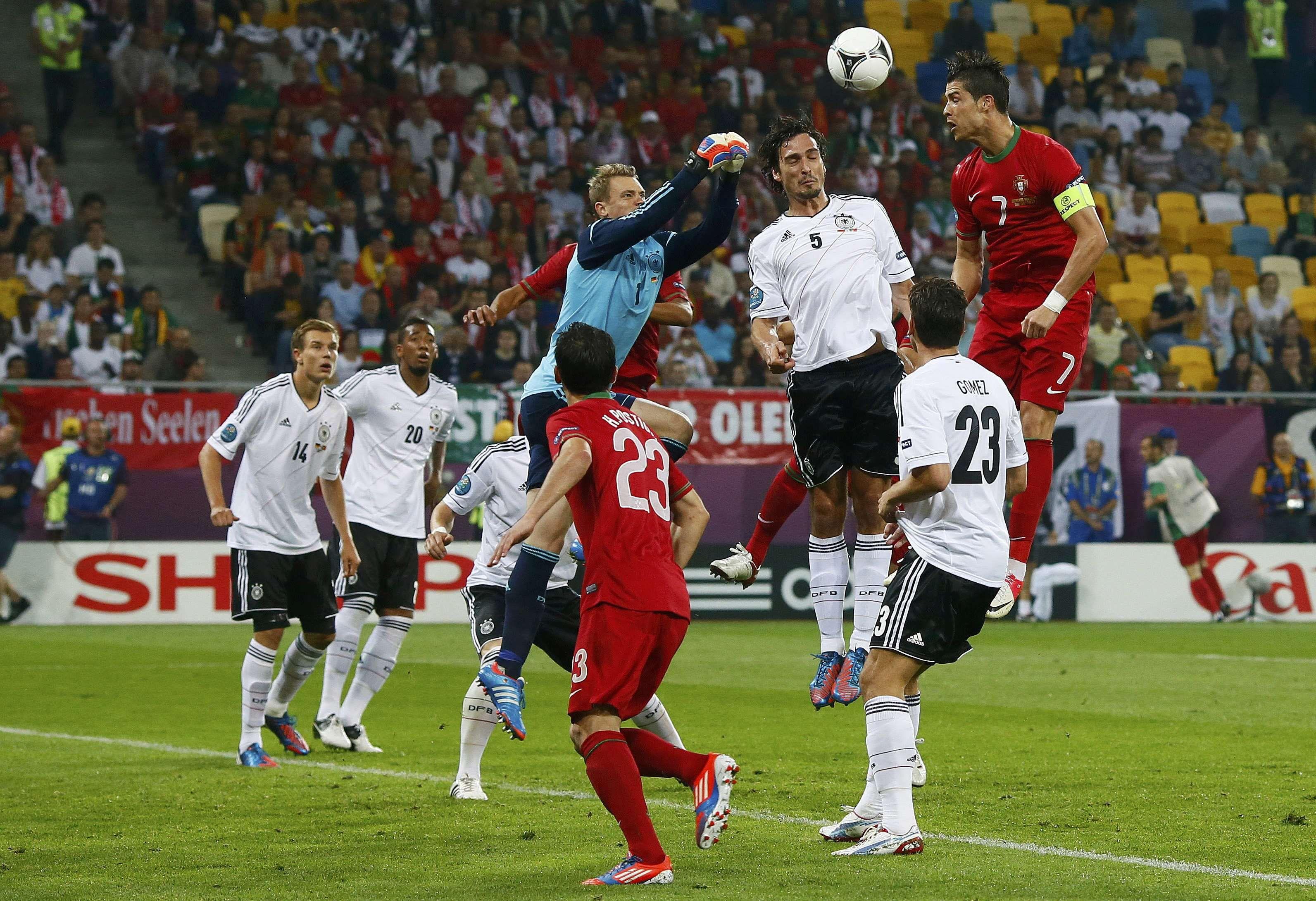 Germany vs Portugal // Manuel Neuer // Euro 2012 | Cristiano ronaldo, Cristiano ronaldo 2014, Euro 2012