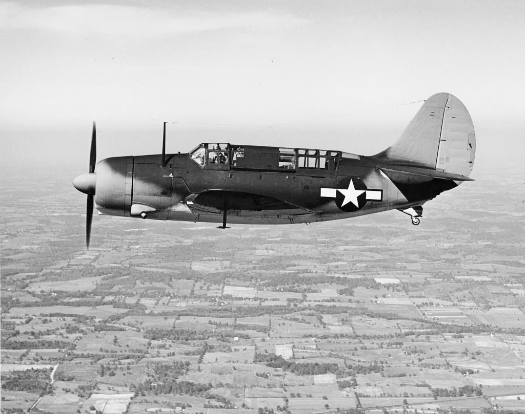Curtiss SB2C-1 Helldiver