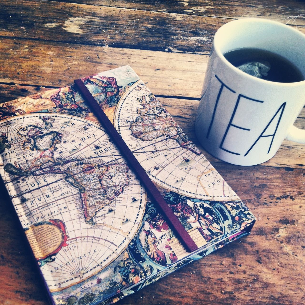 anddarlingthisthing: i picked up a new journal + a new mug today. we need to find lots of rad mugs this summer!
