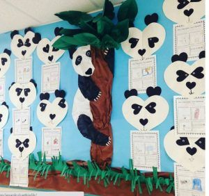 panda bulletin board idea | Panda, Asie et Animaux