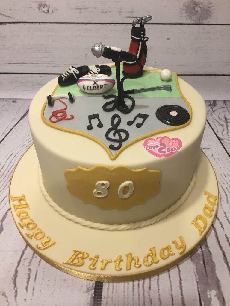 3 Hobby Cake By Love2bake Feb 2017 Love2bake Cakes Pinterest