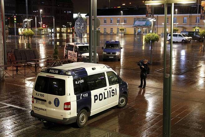 Police van VW