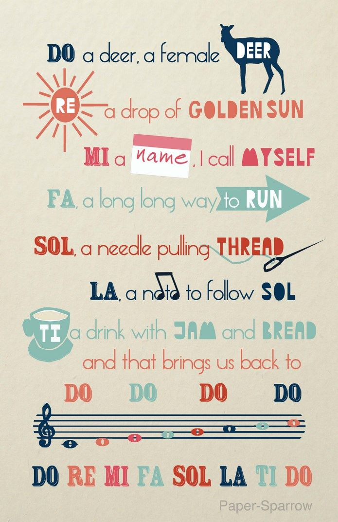 Do Re Mi, an Illustrated Song