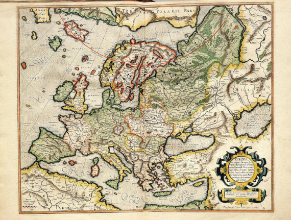 World map europe world map poster old world map ancientmaps world map europe world map poster old world map ancientmaps sciox Choice Image