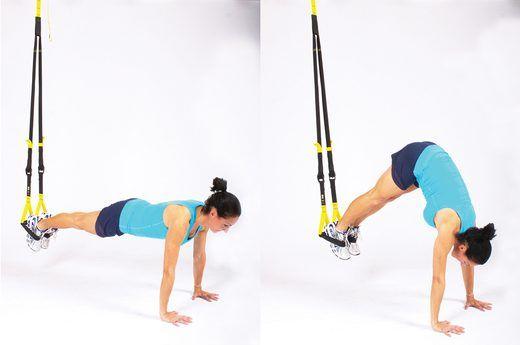 Black//Yellow Body Sculpture Total Body Suspension Trainer