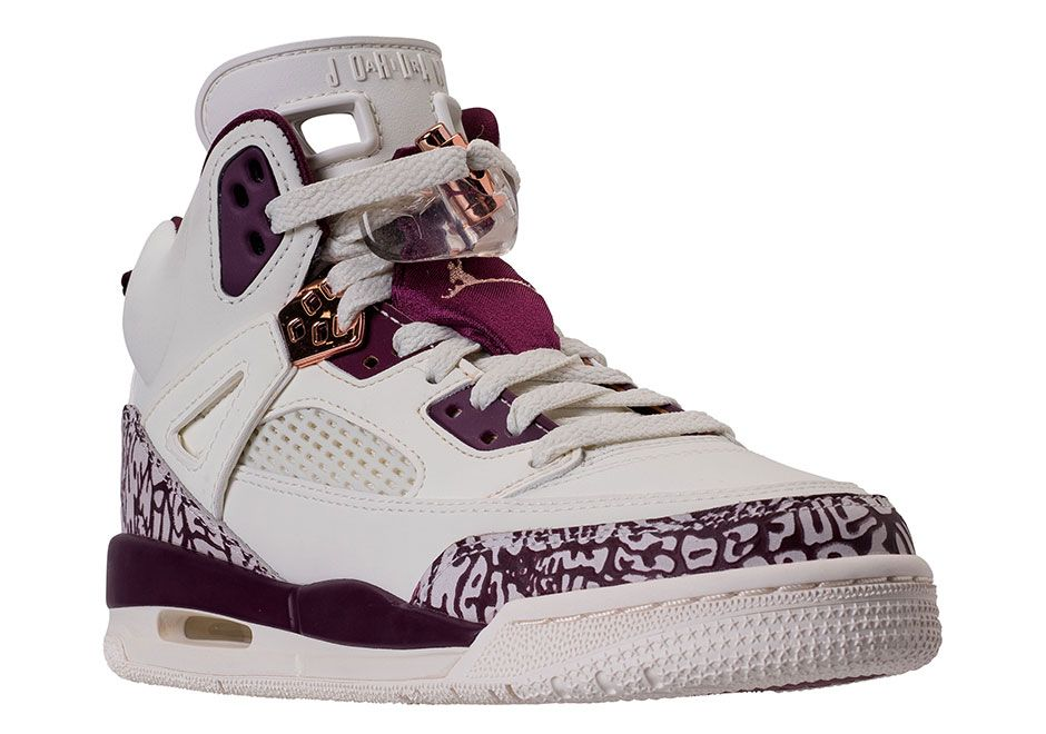 super popular 073cc 1578e  sneakers  news Jordan Pairs Bordeaux With Rose Gold On Upcoming Spiz ike  Release