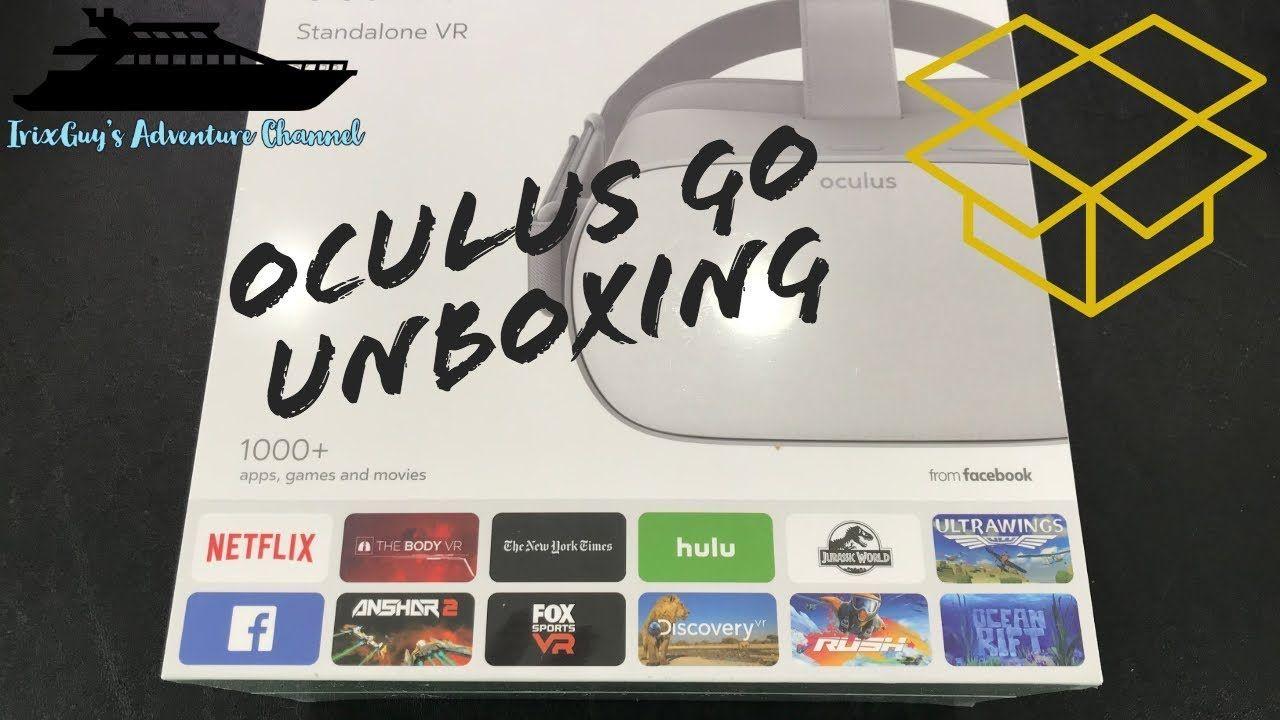 Oculus Go Unboxing Oculus, Unboxing, Company logo