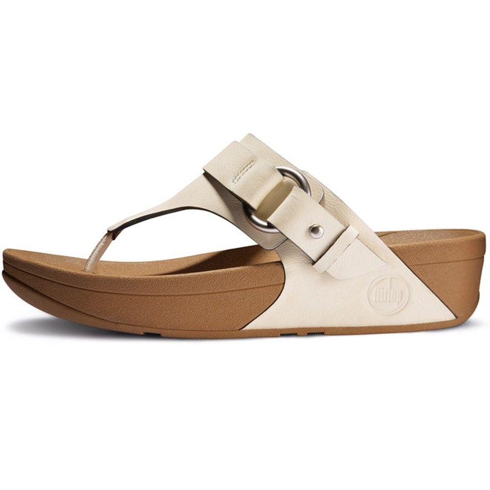 Fitflop Via Nubuck Urban White Women's Sandals