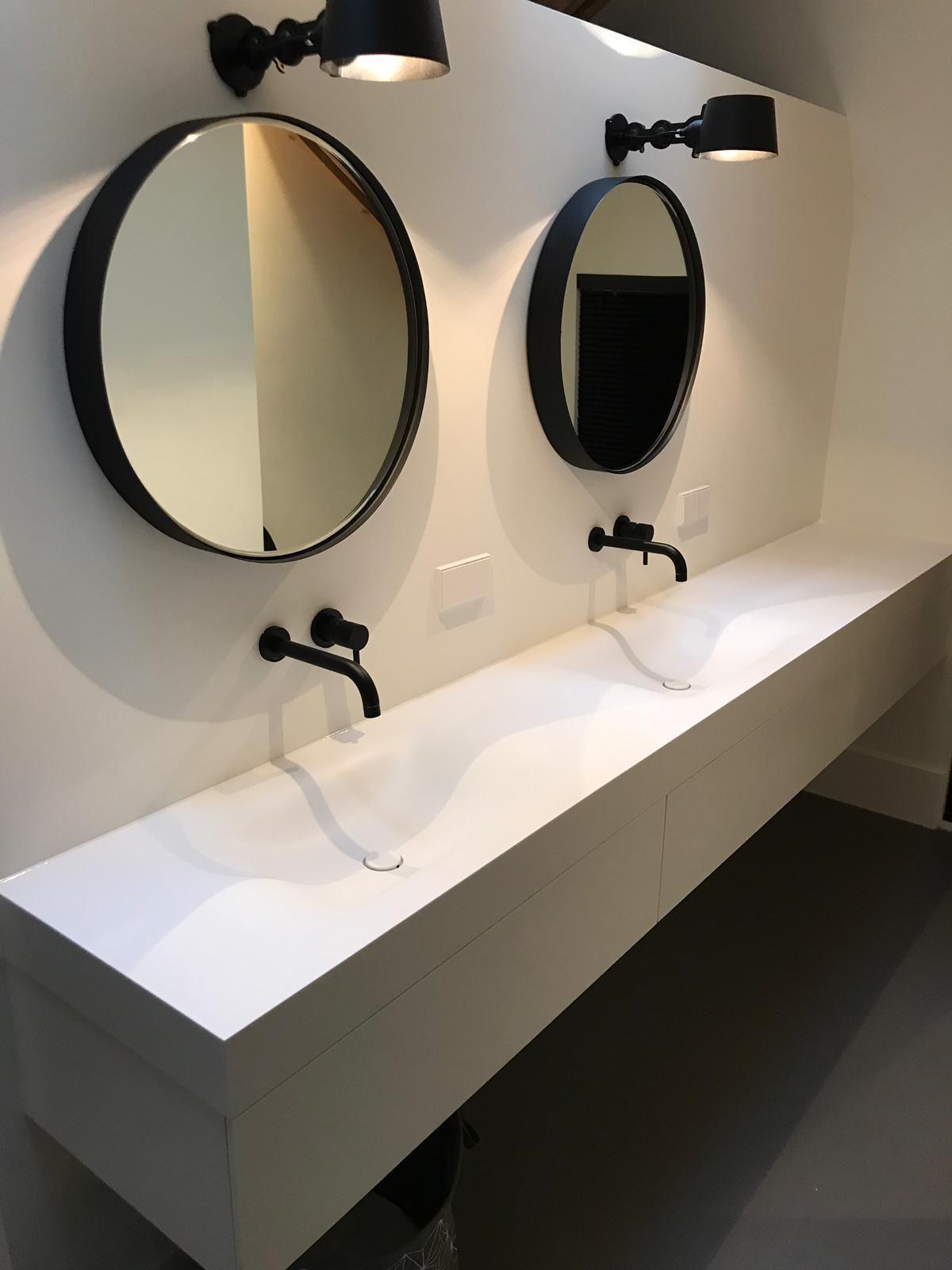 Tiz Design Kwaliteits Badkamermeubels Solid Surface Badkamer Spiegel Badkamer Badkamermeubel