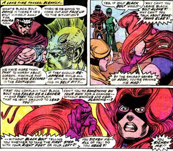 Inhumans 3 6 Supermegamonkey Chronocomic