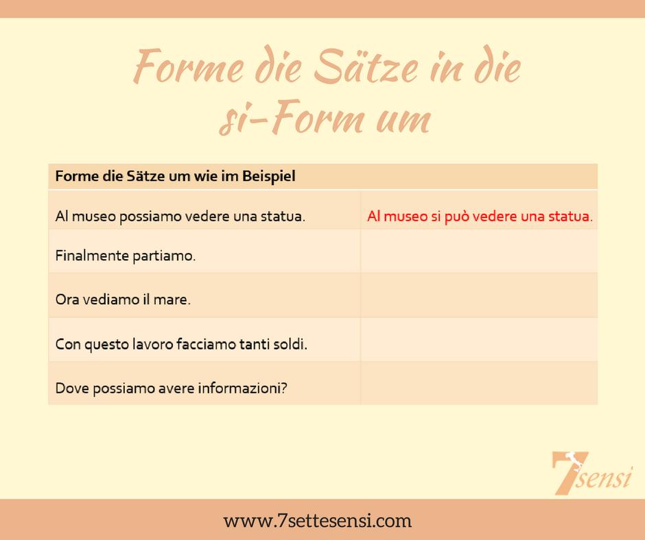 Flirten auf italienisch sätze