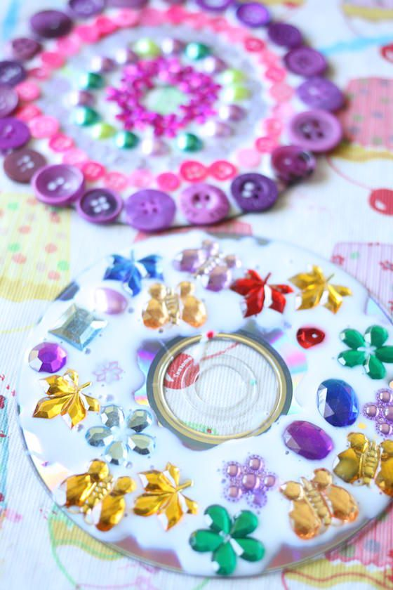 Cd Craft Ideas For Kids Part - 42: CD Mandala Ornaments For Kids To Make