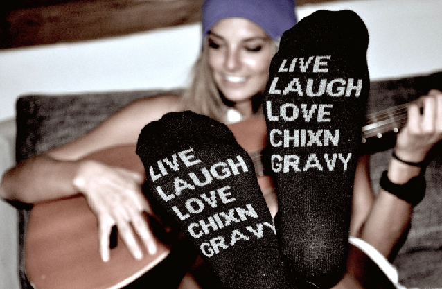 'Live Love Laugh' by Chixngravy    http://cooler.mpora.com/style/live-love-laugh-by-chixngravy.html