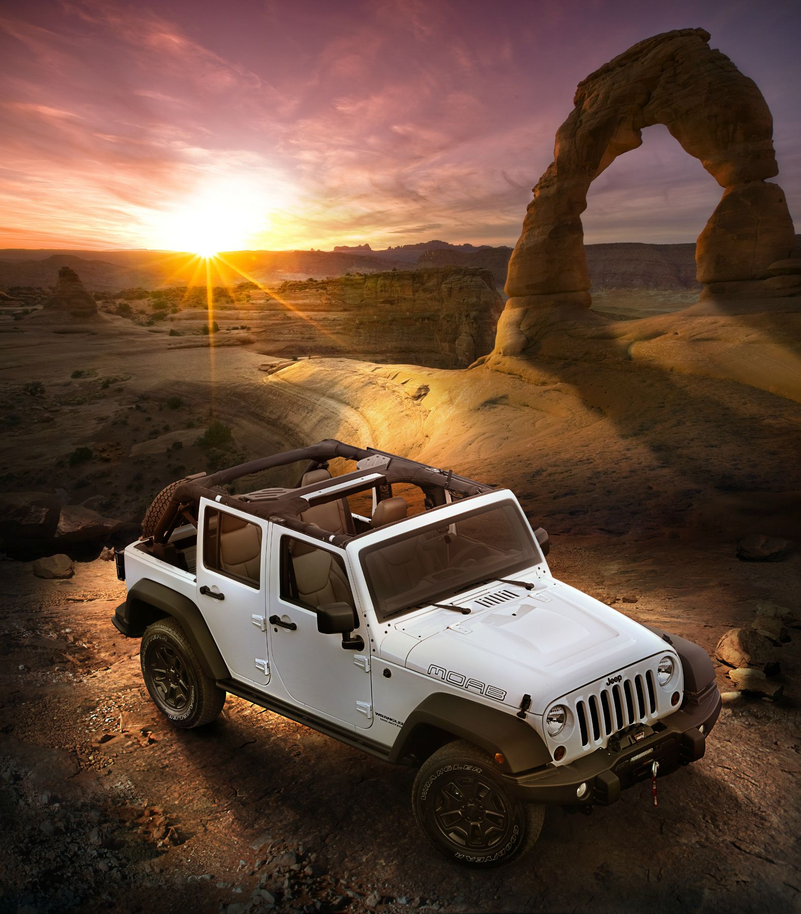 full jeep moab sunset fred martin superstore 3195 barber road barberton norton oh 44203 877 644. Black Bedroom Furniture Sets. Home Design Ideas